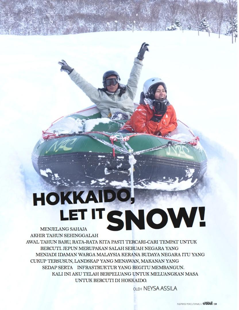 Hokkaido, Let it Snow!