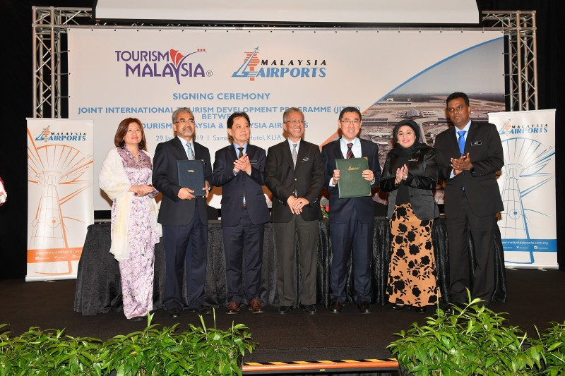 Tourism Malaysia And Malaysia Airports Sign MoU For JITDP