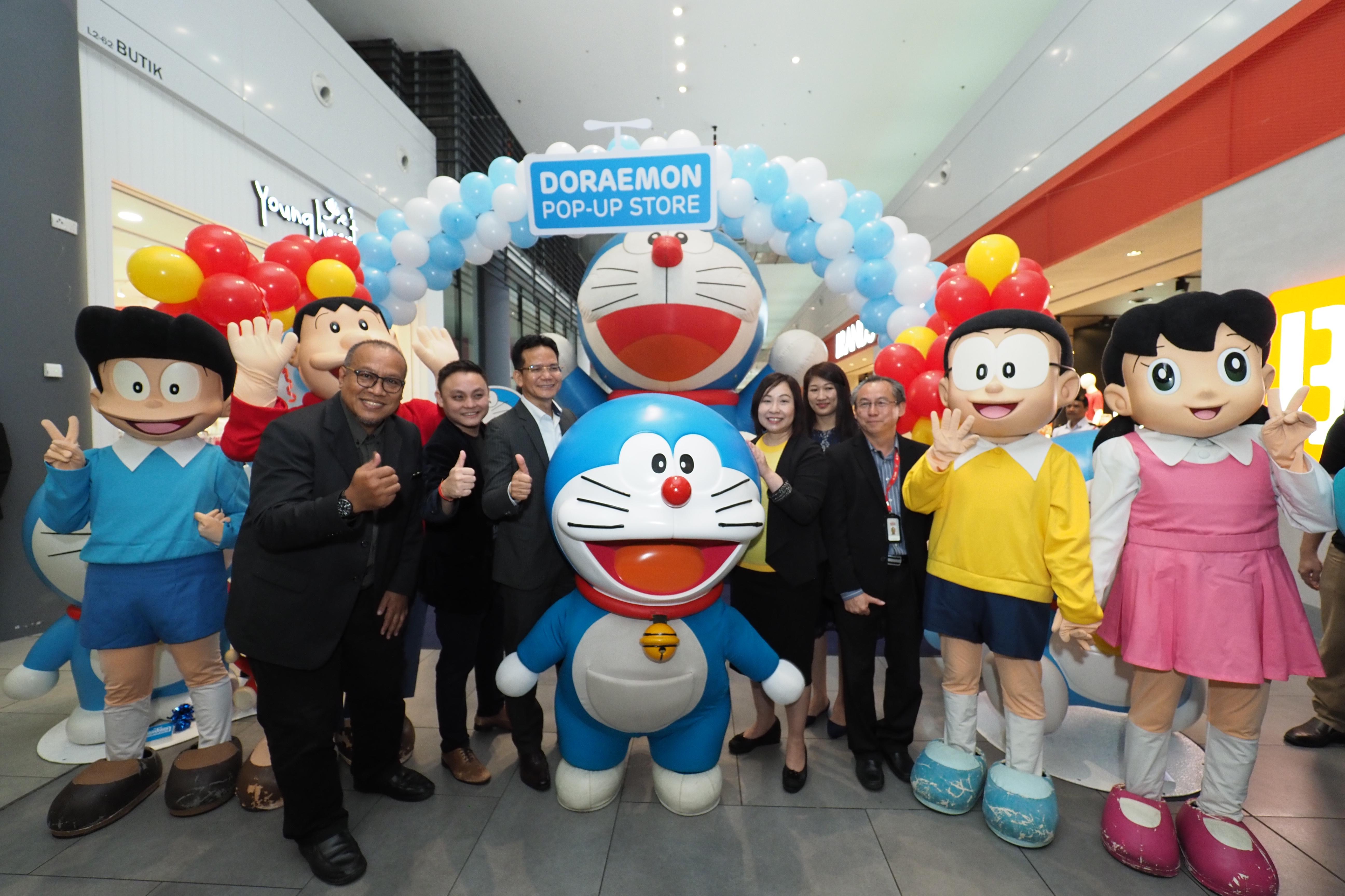 Doraemon & Rakan-rakan Membuat Kemunculan Sulung di 'Pusat Membeli-Belah dalam Lapangan Terbang' terbesar di Sepang