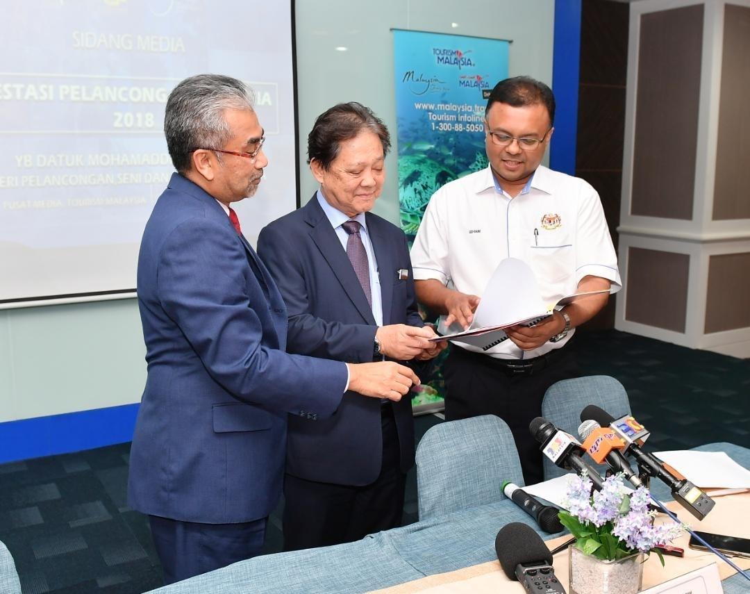 Pelancongan Sumbang RM84.1 Bilion Kepada Ekonomi Malaysia Dengan Ketibaan Pelancong Antarabangsa Seramai 25.8 Juta Pada 2018
