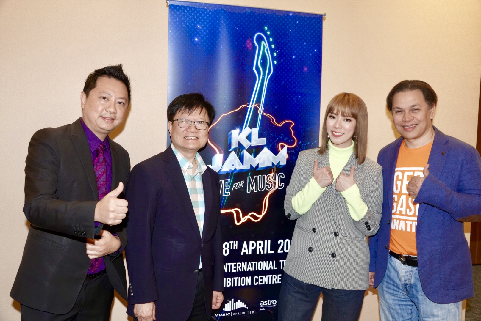 KL Jamm Collaboration with Hong Kong Asian-Pop Music Festival Announced at MITEC