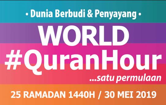 World Quran Hour Sebagai Program Pelancongan Ibadah