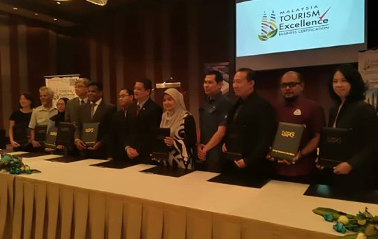 THE SOFT LAUNCH OF MALAYSIA TOURISM EXCELLENCE (MaTEx) BUSINESS CERTIFICATION PROGRAMME