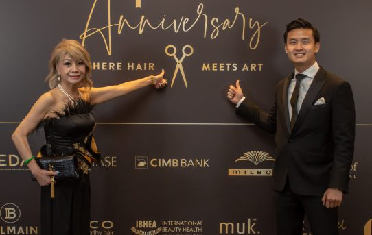 A Cut Above Puts On A Grand Show As It Turns 40! Malaysia's premier group of salons continues to lead the pack after 4 decades