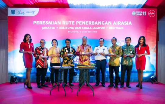 AirAsia officiates new Belitung services from Kuala Lumpur and Jakarta