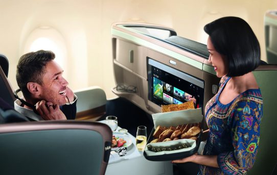 Singapore Airlines Tawar Penerbangan Terus ke Dusseldorf