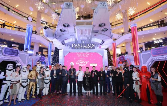 "DAZZLE WITH ""A STARRY CHRISTMAS"" AND STAR WARS AT PAVILION KL THIS HOLIDAY SEASON"