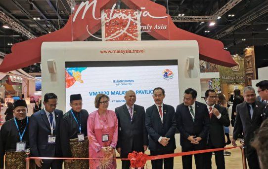 VISIT MALAYSIA 2020 PROMOTION AT WORLD TRAVEL MARKET LONDON